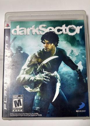 Игра диск Dark Sector для PS3