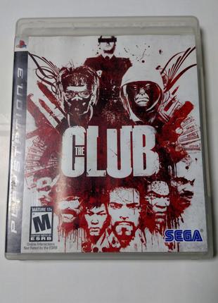 Игра диск The Club для PS3