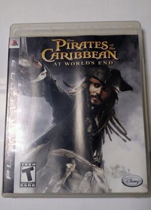 Игра диск Pirates of the Caribbean для PS3