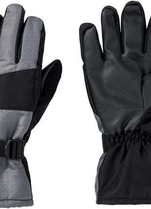 Мужские лыжные перчатки crivit men's ski gloves, 8.5