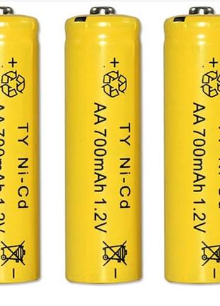 Аккумулятор AA 1.2V 700 mAh Ni-Cd, пальчик