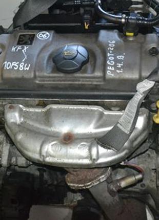 Разборка Peugeot 206 (2002), двигатель 1.4 KFX (TU3JP)
