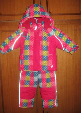 Зимний термо комбинезон (костюм) topomini  р.86 германия