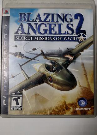 Игра диск Blazing Angels 2 для PS3