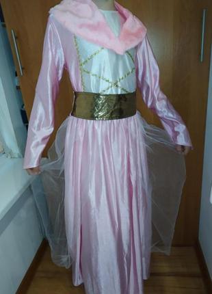 Карнавальный новогодний костюм платье принцессы