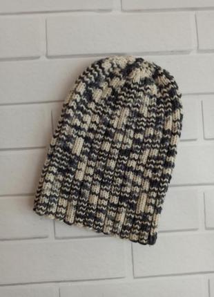 Шапка зимняя, женская шапка теплая