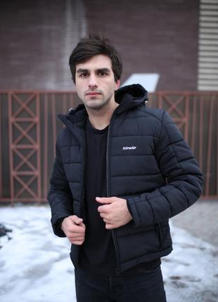 """Зимняя Куртка Intruder черная """"Impression"""""""