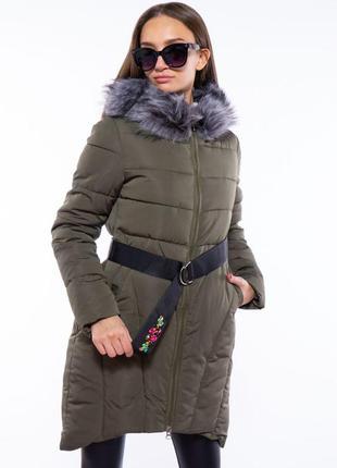 Куртка женская с поясом