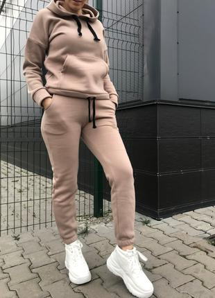 Спортивный костюм женский теплый