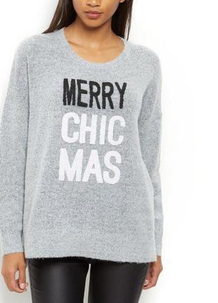 Новогодний свитер. счастливого рождества