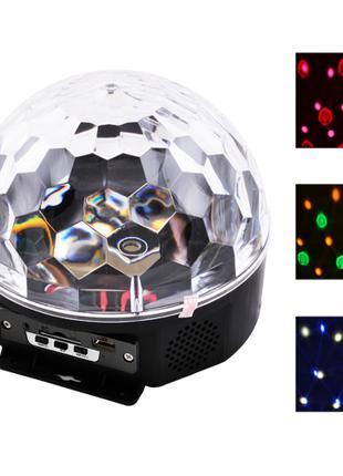 Лазер диско YX-024 пульт ДУ, флешка.