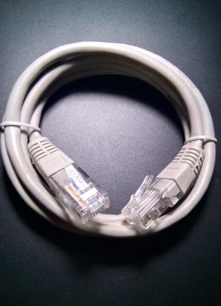 Кабель сетевой Ethernet патч-корд LAN 1 метр