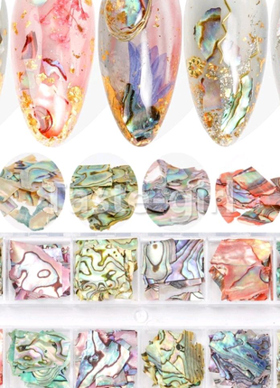 камуфубуки для дизайну нігтів манікюру Бльостки