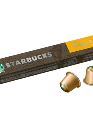 Кофе в капсулах Starbucks Blonde Espresso, 10 капсул Nespresso