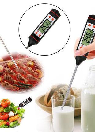 Кухонный термометр электронный со щупом (для продуктов, напитков)