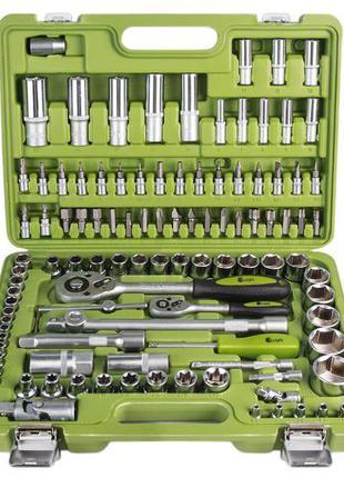 Универсальный набор инструментов Alloid 108 предметов с головками