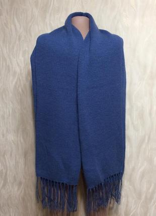 """Теплый шарф палантин из уникальной шерсти альпака"""""""