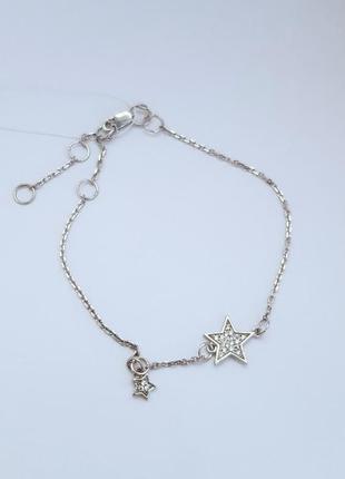 Серебряный браслет созвездие серебро 925 проба