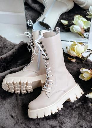Ботинки милитари натуральная кожа р36-41 берцы сапоги черевики...