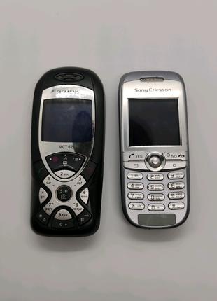 Мобільні телефони 2шт неробочі