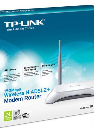 ADSL2+ модем-маршрутизаторTP-Link TD-W8901N