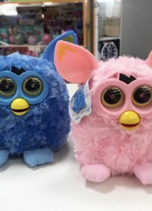 Интерактивная детская мягкая игрушка разговаривает Фёрби Пикси