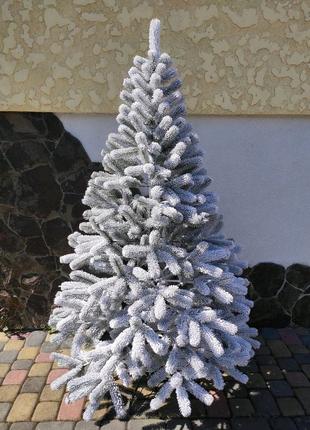 Литая елка Заснеженная Буковель. 150см.