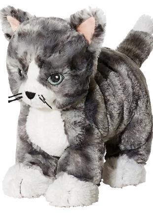 Плюшевая игрушка Котёнок IKEA детская мягкая игрушка