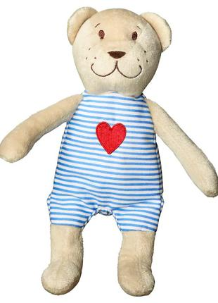Мягкая детская плюшевая игрушка Мишка бежевый 21 см IKEA
