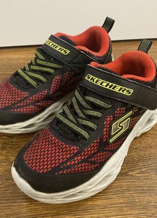 Кроссовки Skechers 29 размер светящиеся