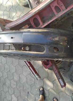 Бампер передний (Рестайл) синий Опель Вектра Б Vectra B 2000