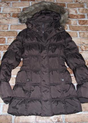 Теплое куртка пальто зима супер 12 лет