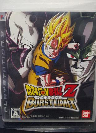 Игра диск DragonBall Z BurstLimit  для PS3