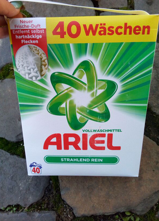 Ariel стиральный порошок Vollwaschmittel (2,6 кг-40 ст)
