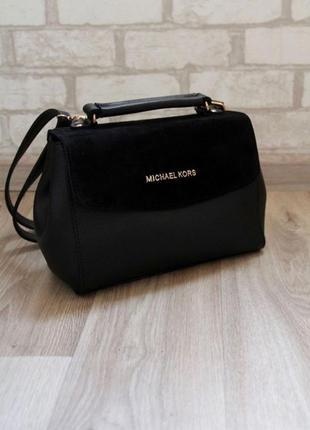 Женский клатч,сумочка с натуральной замшей