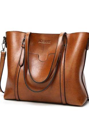 Женская большая сумка