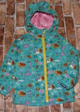 Легкая куртка ветровка 4 года disney