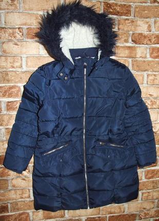 Теплое зима куртка пальто 11-12 лет  marks & spencer