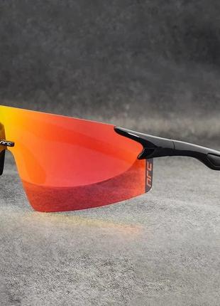 Фотохромные Очки NRC безрамочные 2 линзы/ Велосипедные очки ха...