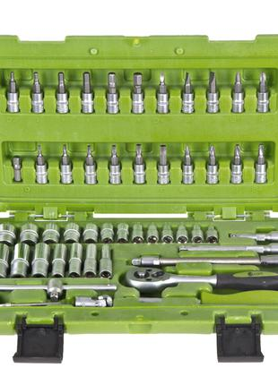 Набор инструментов головок 1/4 53 предмета Alloid