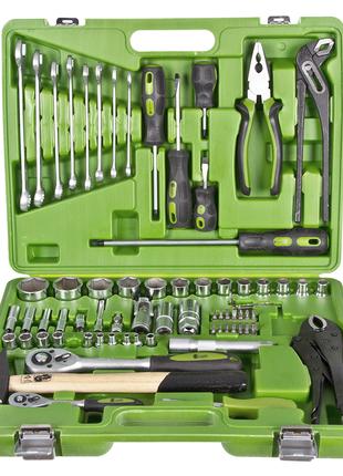 Универсальный набор инструментов 1/4 1/2 , 72 предмета Alloid