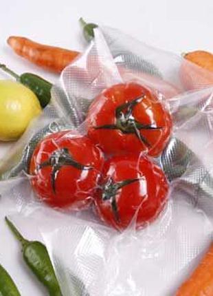 Вакуумные упаковка пакеты пленка расходная рулоны 6м гофрированна