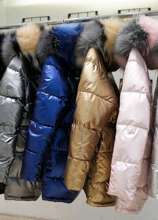 Пуховик женский, парка, курточка теплая зимняя