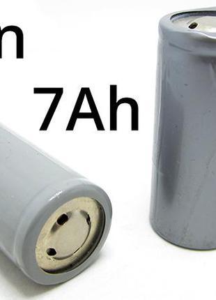 Высокотоковый аккумулятор Li-Ion 3.7V 32650 7000mAh 10mOm