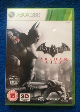 Лицензия BATMAN Arkham City русский язык XBOX 360