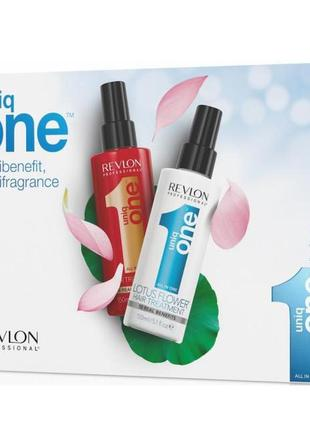 Набор для волос revlon professional uniq one duo pack classic/...