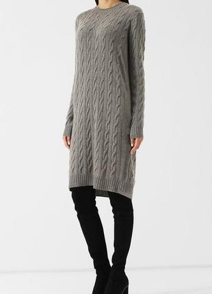 Вязаное платье,туника,свитер объемной вязки oversize