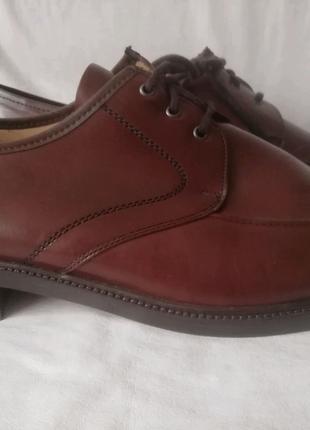 A. John кожаные туфли шкіряні туфлі р. 47 ст. 31,5 см