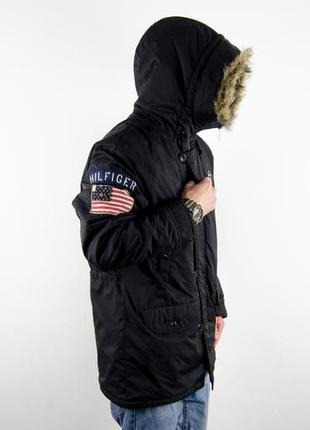 Tommy hilfiger n3b парка куртка милитари аляска зимняя военная...