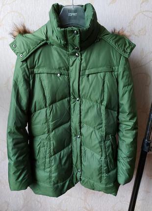Зеленая куртка-пуховик marc new york by andrew marc